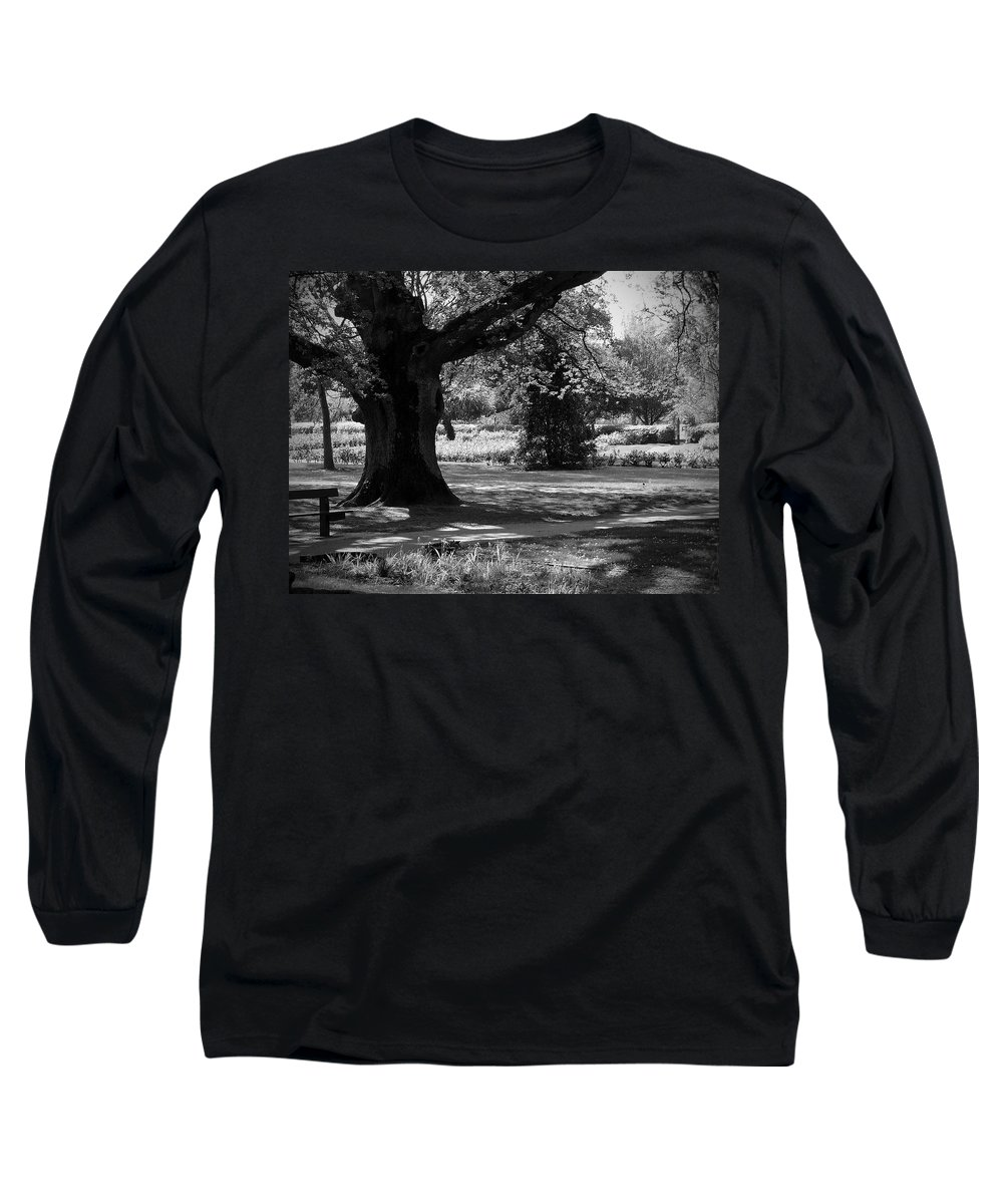 Irish Long Sleeve T-Shirt featuring the photograph Tralee Town Park Ireland by Teresa Mucha