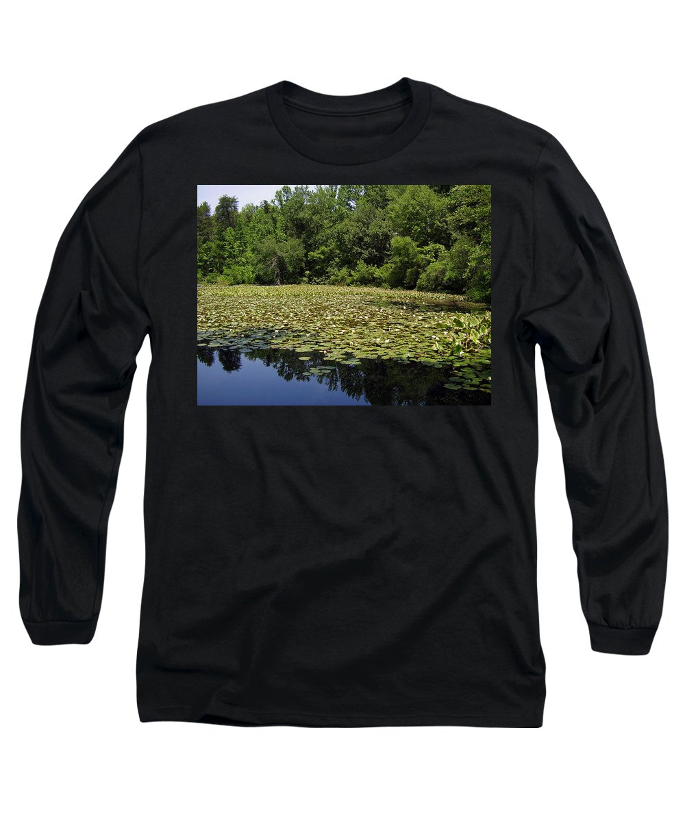 Tranquility Long Sleeve T-Shirt featuring the photograph Tranquility by Flavia Westerwelle
