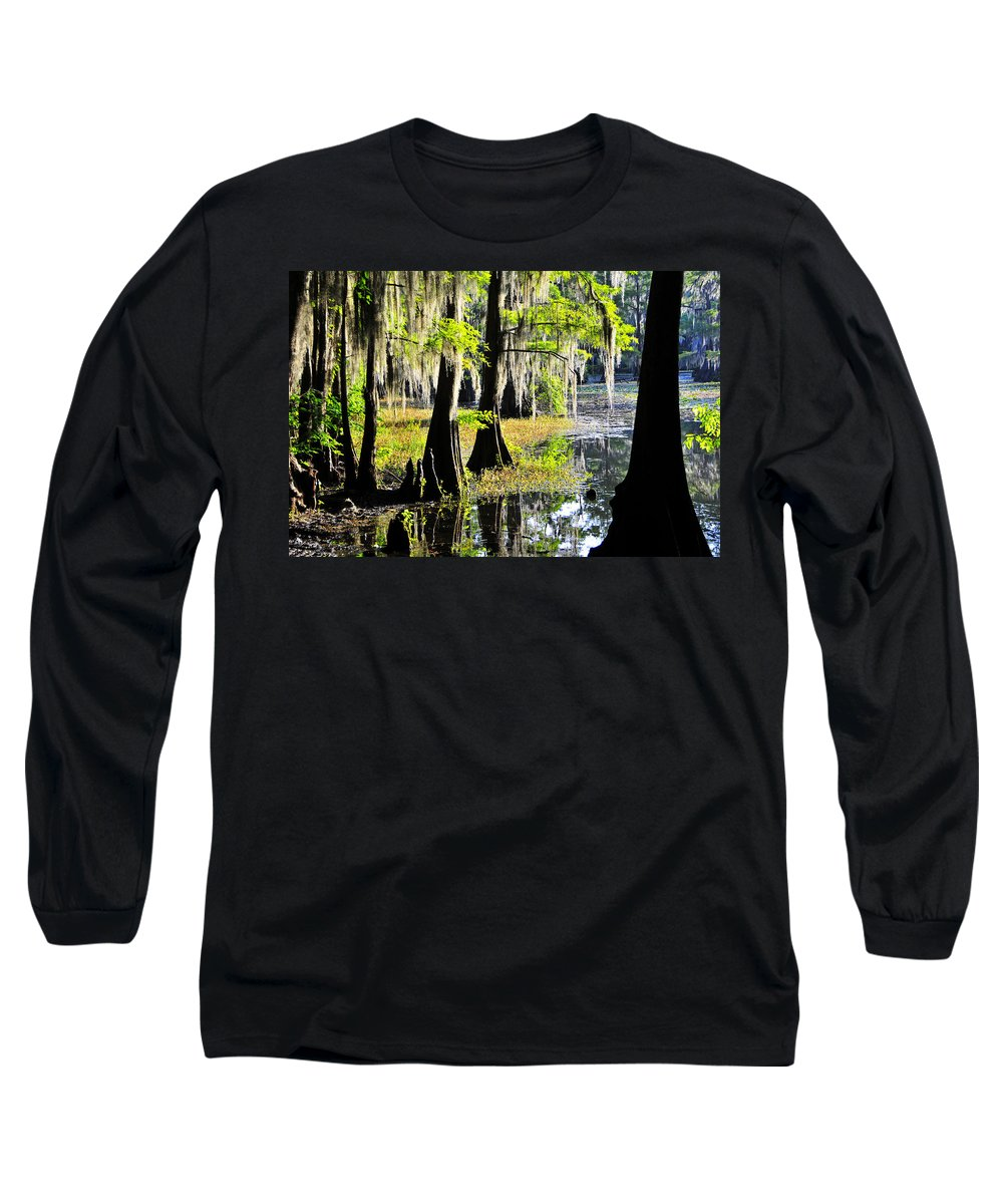 Skip Hunt Long Sleeve T-Shirt featuring the photograph Uncertain by Skip Hunt