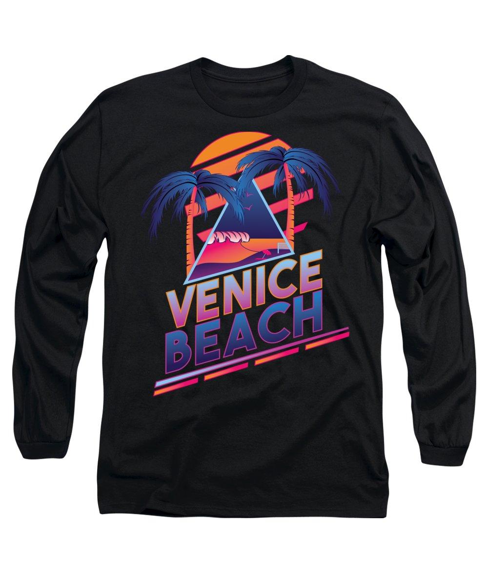 Venice Beach Long Sleeve T-Shirts