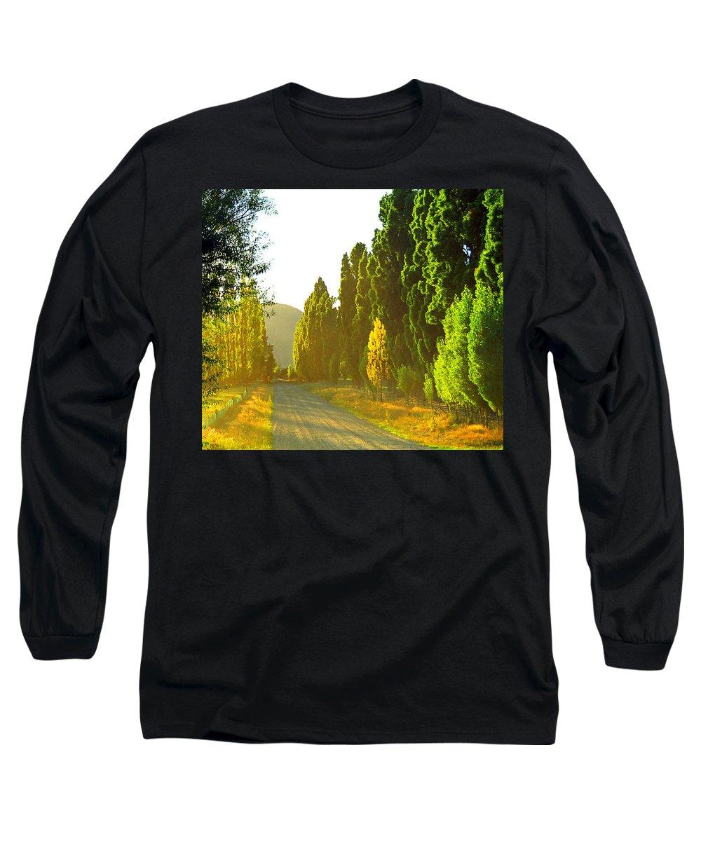Wanaka Long Sleeve T-Shirt featuring the photograph Wanaka Morning Light by Kevin Smith