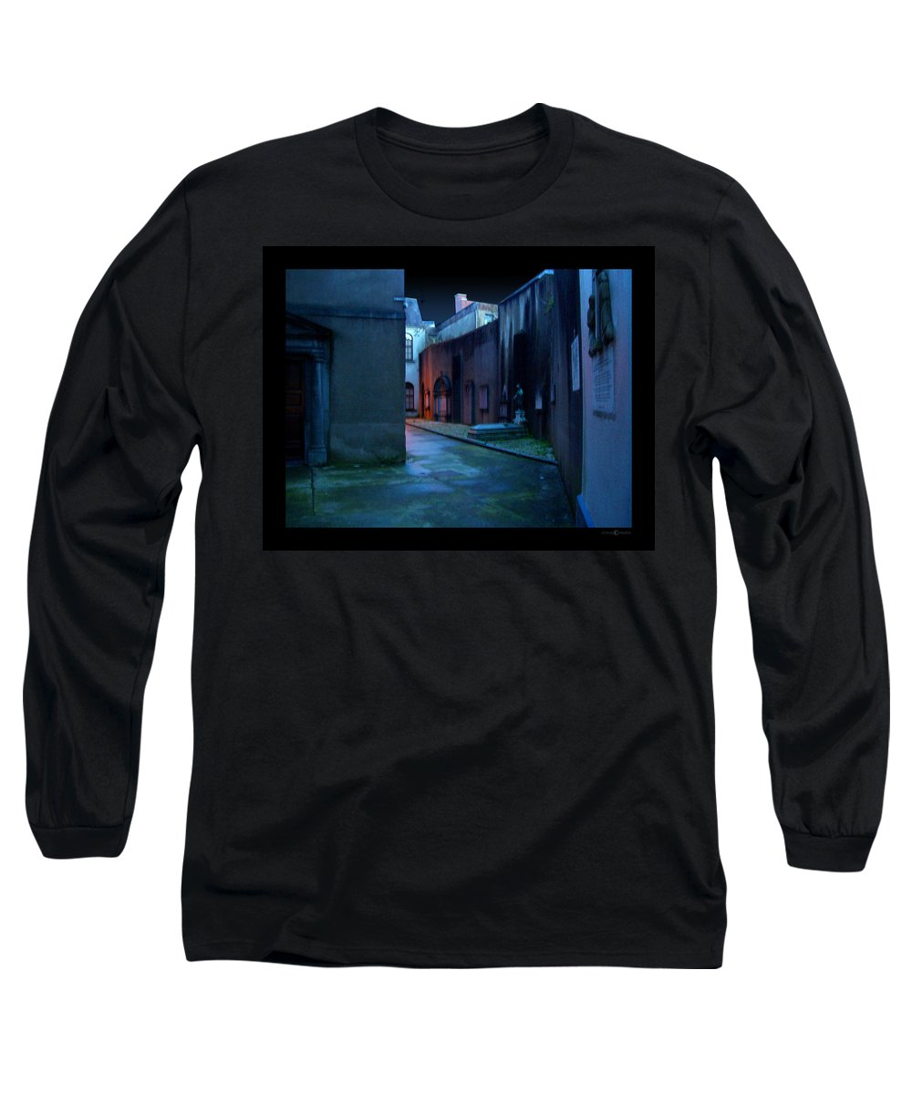 Waterford Long Sleeve T-Shirt featuring the photograph Waterford Alley by Tim Nyberg