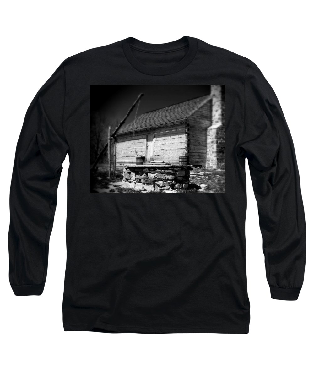Army Long Sleeve T-Shirt featuring the photograph Way Station French And Indian War by Jean Macaluso
