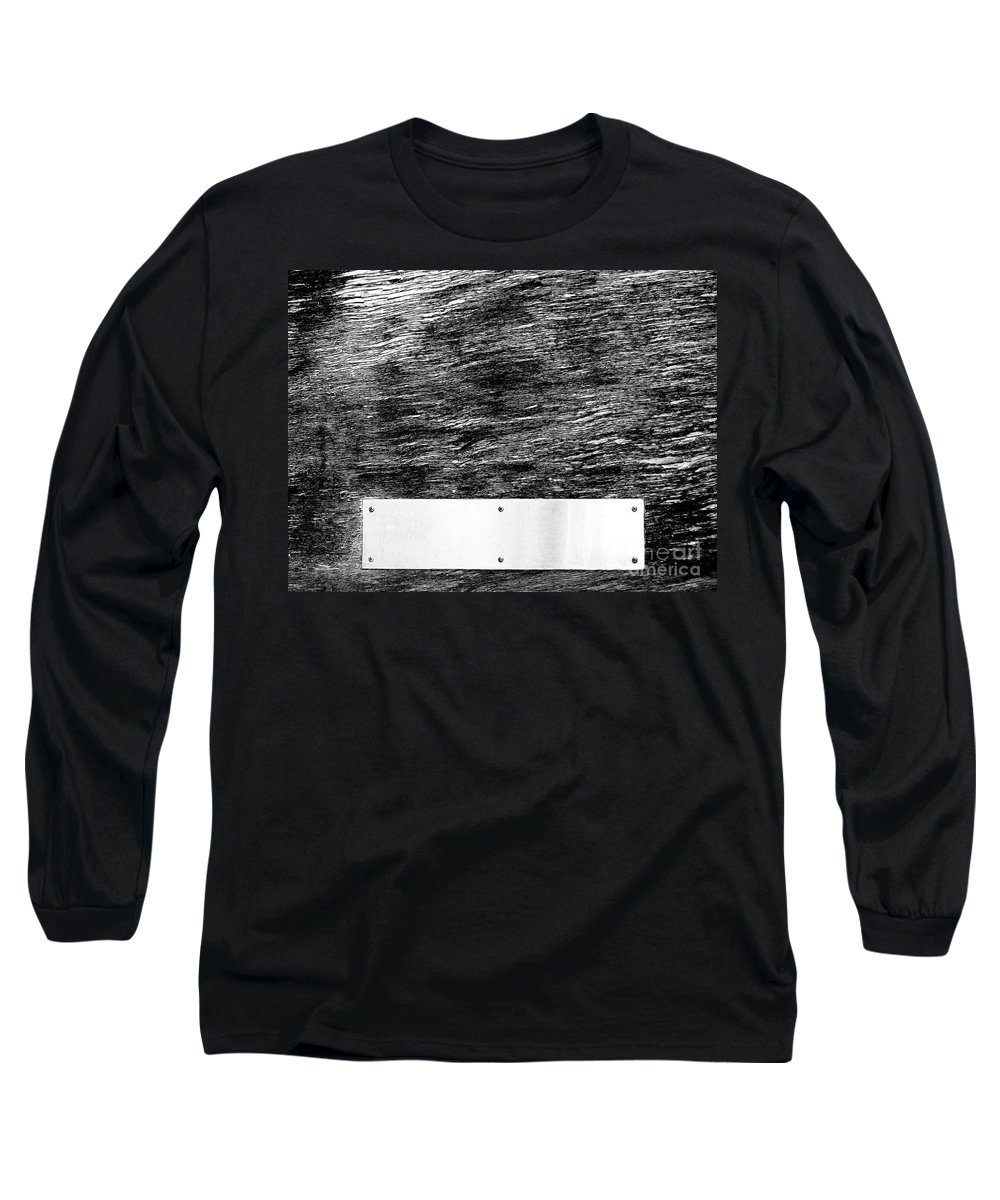 Dipasquale Long Sleeve T-Shirt featuring the photograph Weathered by Dana DiPasquale