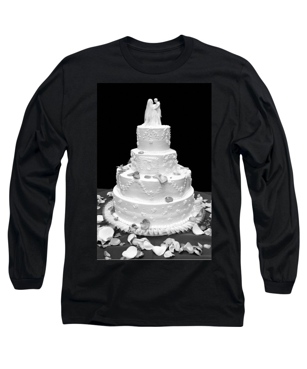 Wedding Long Sleeve T-Shirt featuring the photograph Wedding Cake by Marilyn Hunt