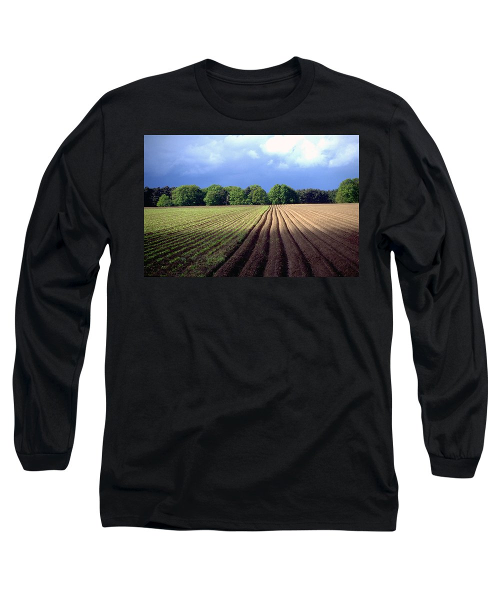 Wendland Long Sleeve T-Shirt featuring the photograph Wendland by Flavia Westerwelle