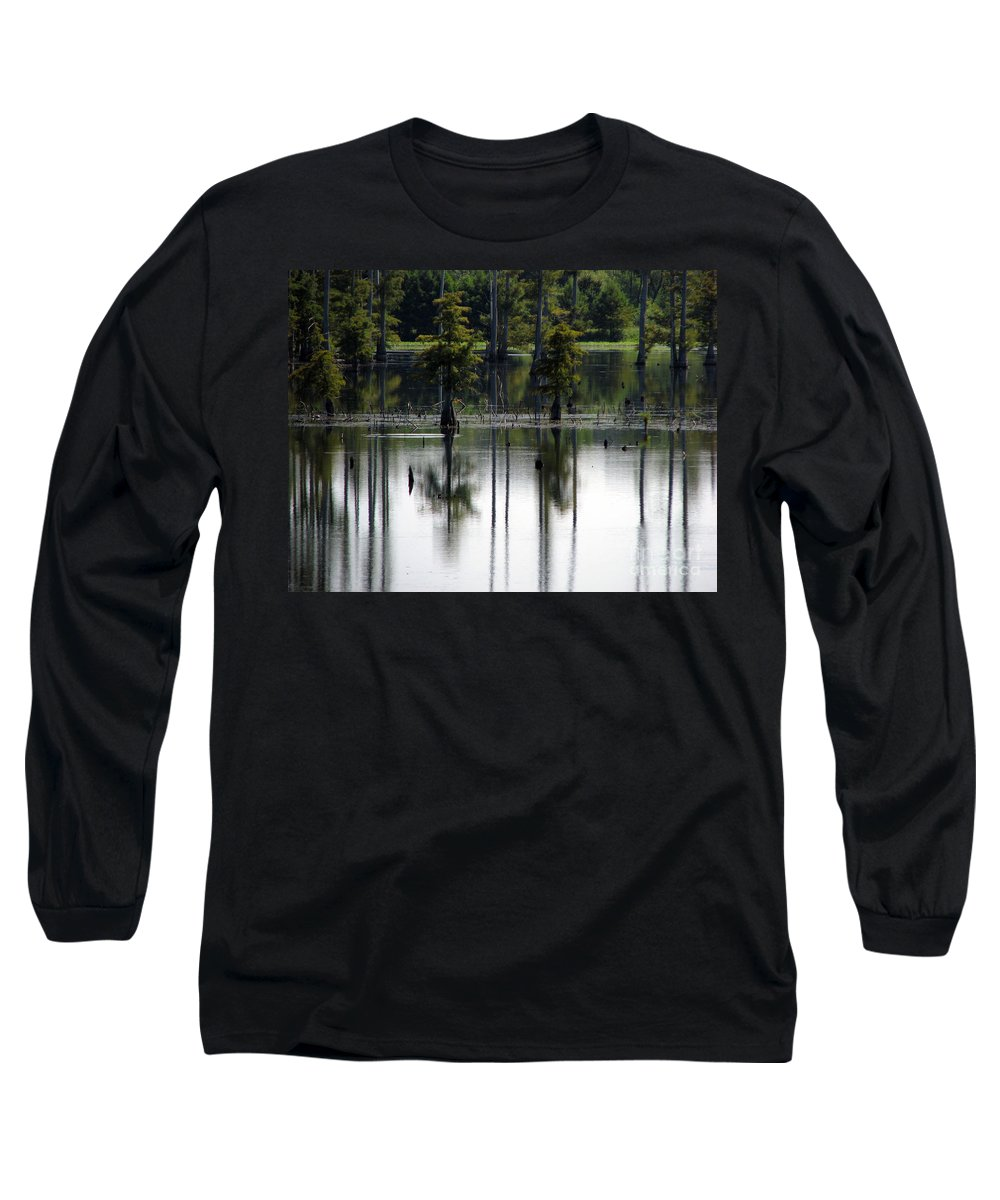 Wetlands Long Sleeve T-Shirt featuring the photograph Wetland by Amanda Barcon