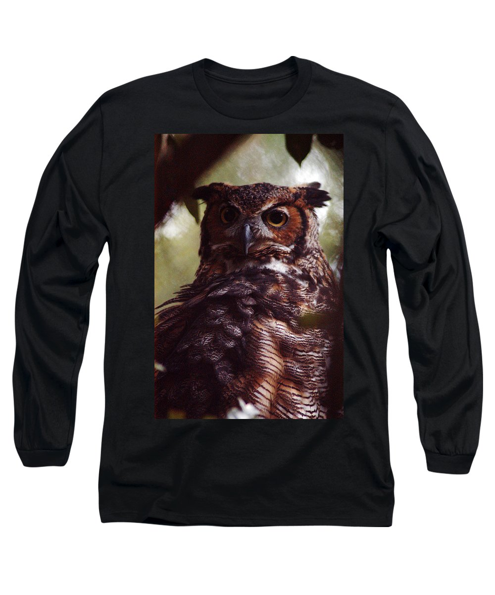 Clay Long Sleeve T-Shirt featuring the photograph Who by Clayton Bruster