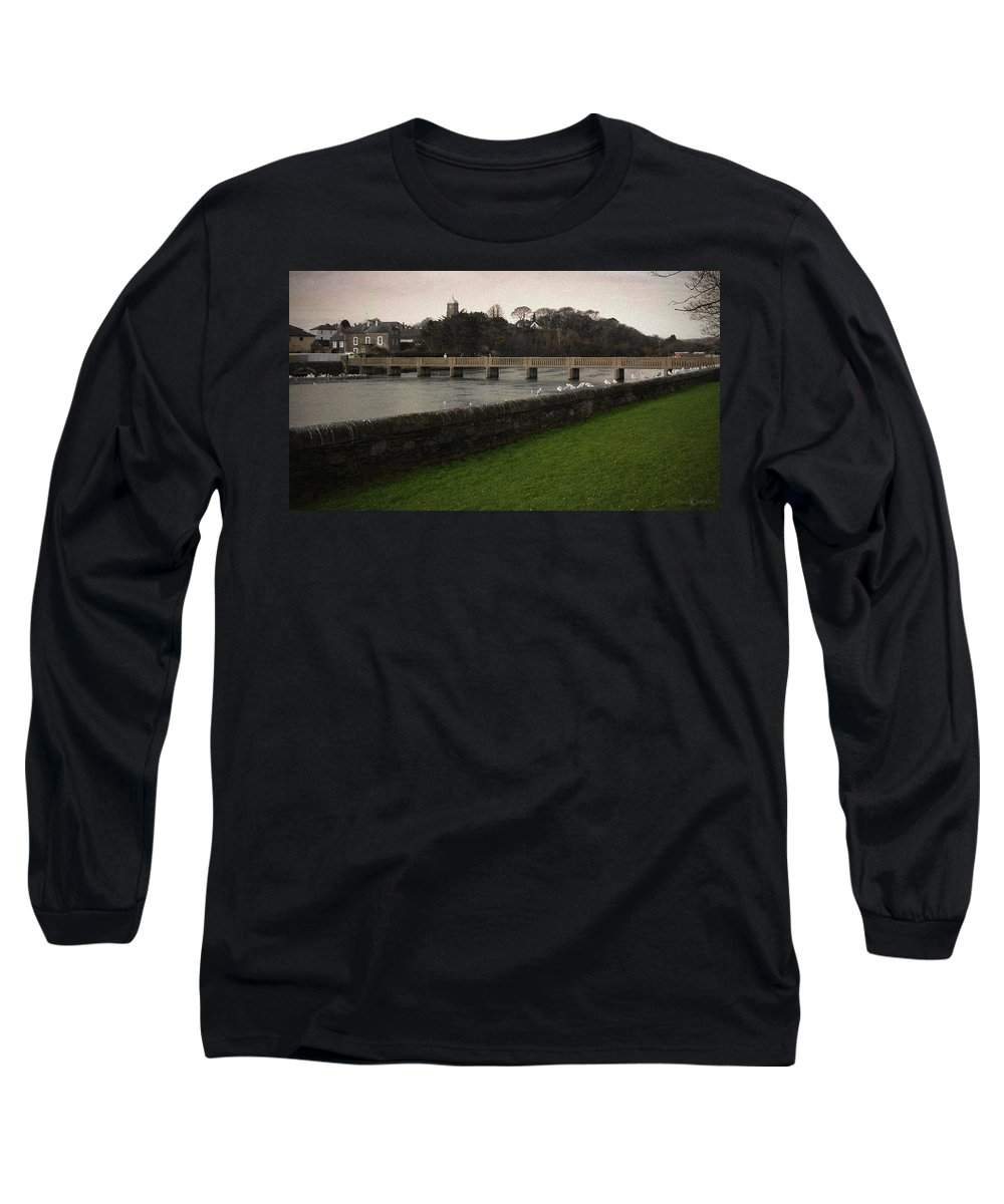 Footbridge Long Sleeve T-Shirt featuring the photograph Wicklow Footbridge by Tim Nyberg