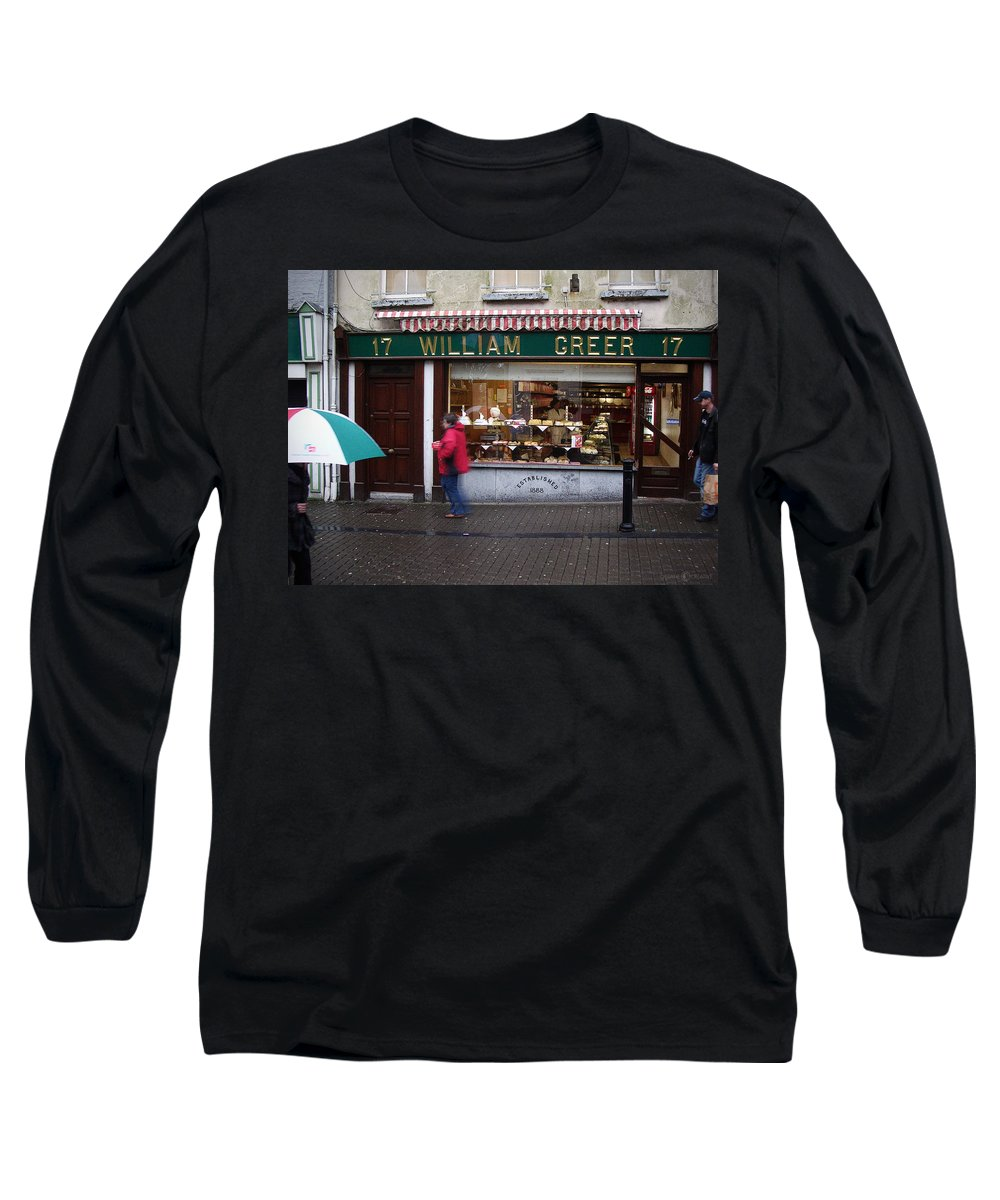 Ireland Long Sleeve T-Shirt featuring the photograph William Greer by Tim Nyberg