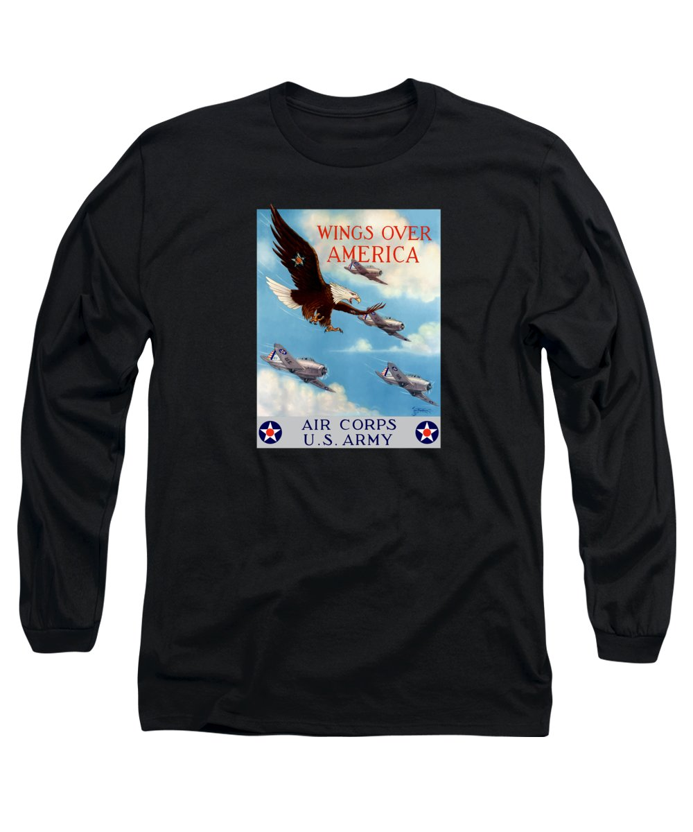 Winged Long Sleeve T-Shirts