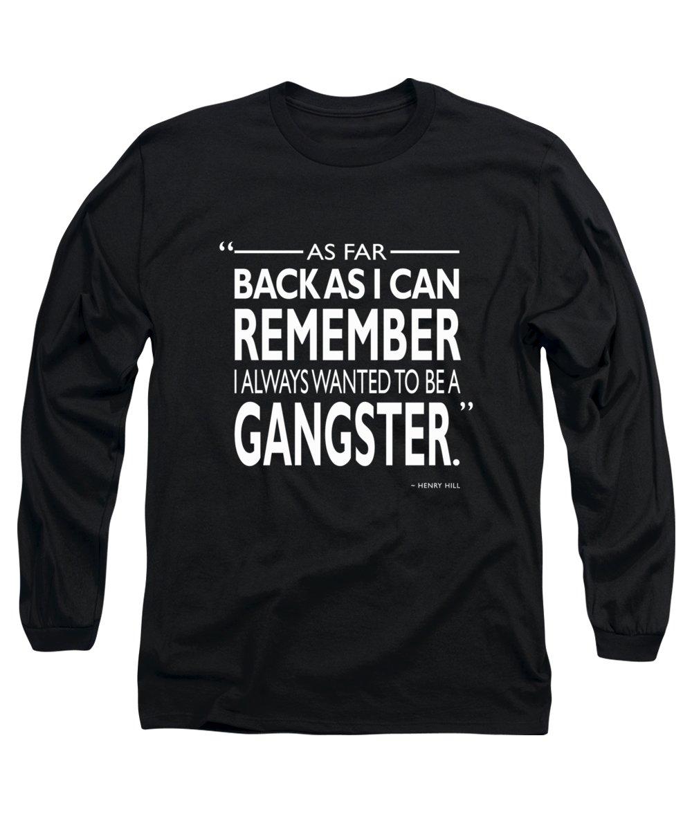 De Niro Long Sleeve T-Shirts