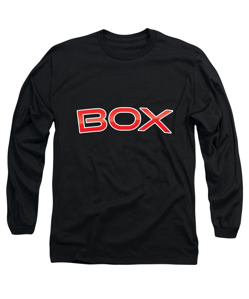 Box Long Sleeve T-Shirt featuring the digital art Box by TintoDesigns