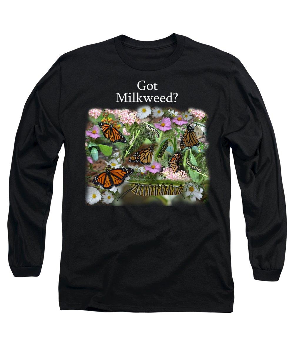 Caterpillar Photographs Long Sleeve T-Shirts
