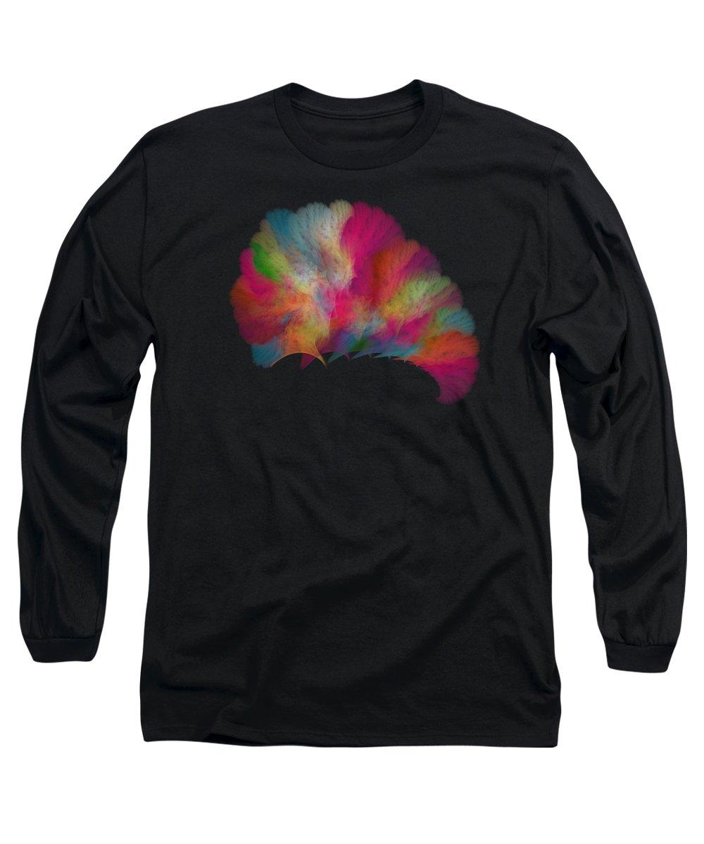 Fractal Long Sleeve T-Shirts