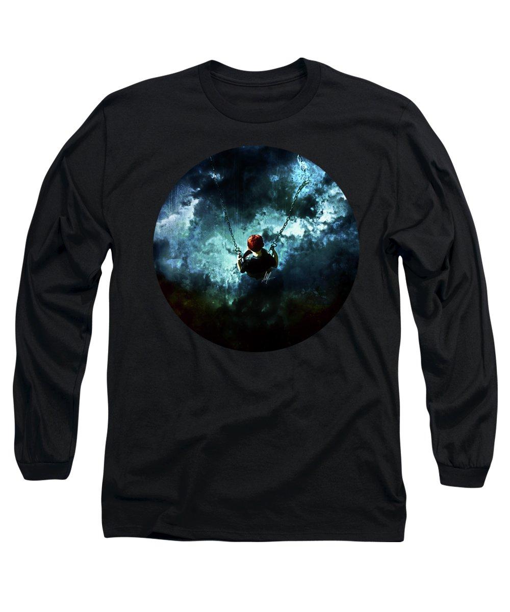Danger Digital Art Long Sleeve T-Shirts