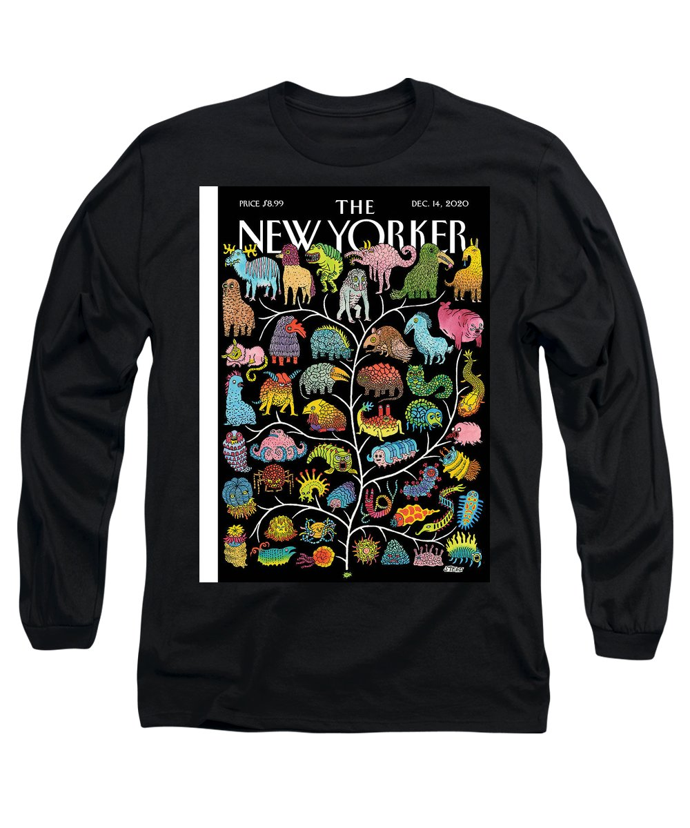 Life Long Sleeve T-Shirt featuring the painting Tree of Life by Edward Steed