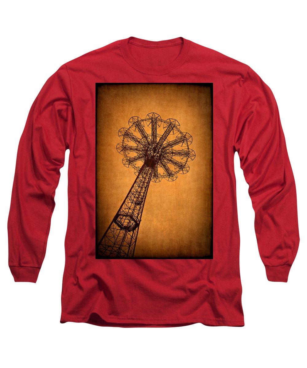 Parachute Jump Photographs Long Sleeve T-Shirts