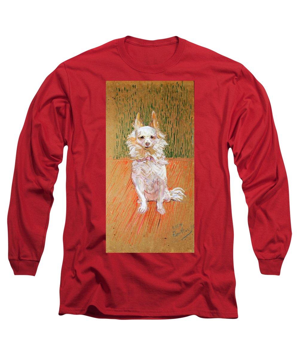 Henri De Toulouse-lautrec Long Sleeve T-Shirt featuring the painting Follette by Henri de Toulouse-Lautrec