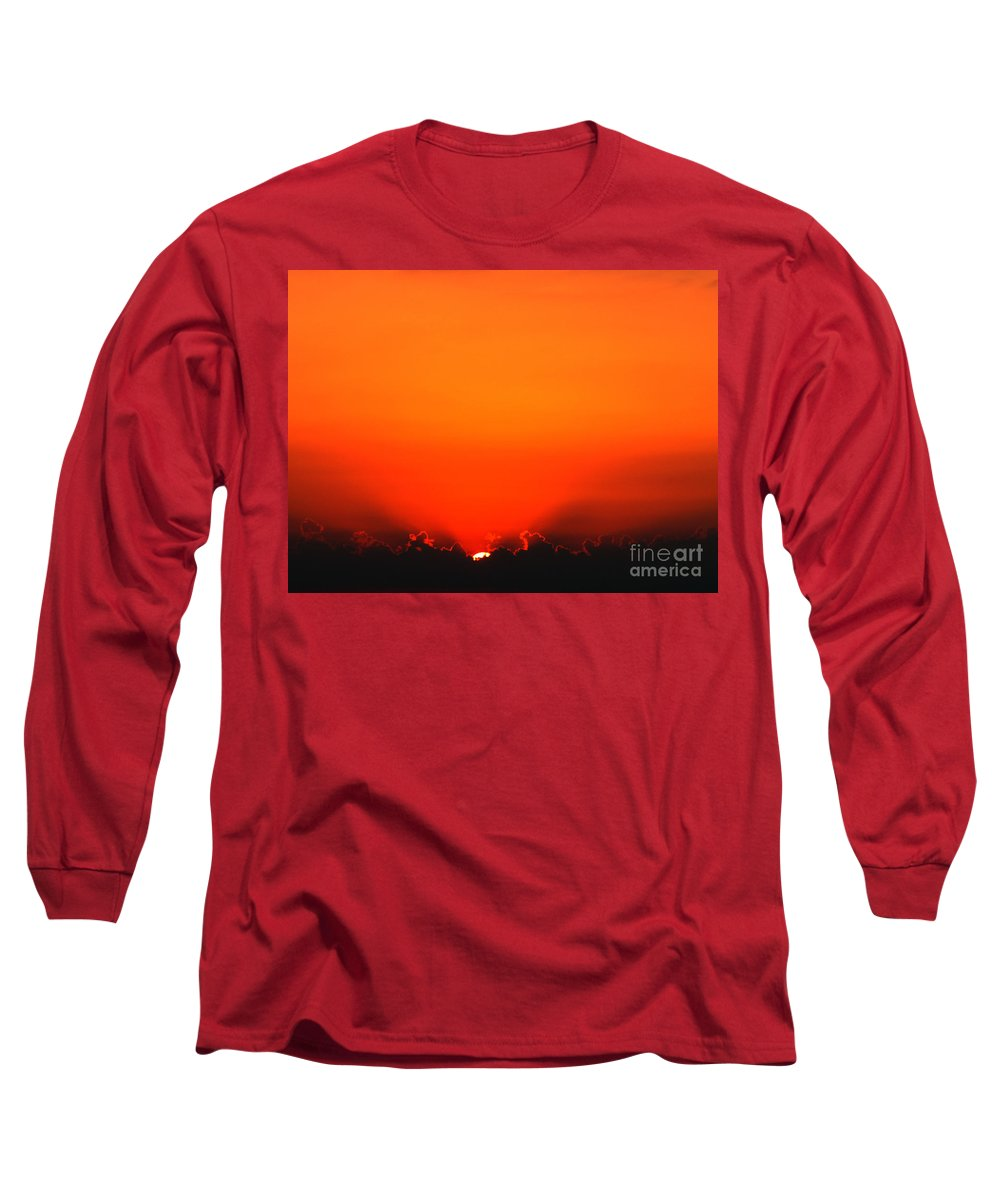 Sun Long Sleeve T-Shirt featuring the photograph A New Day by Amanda Barcon