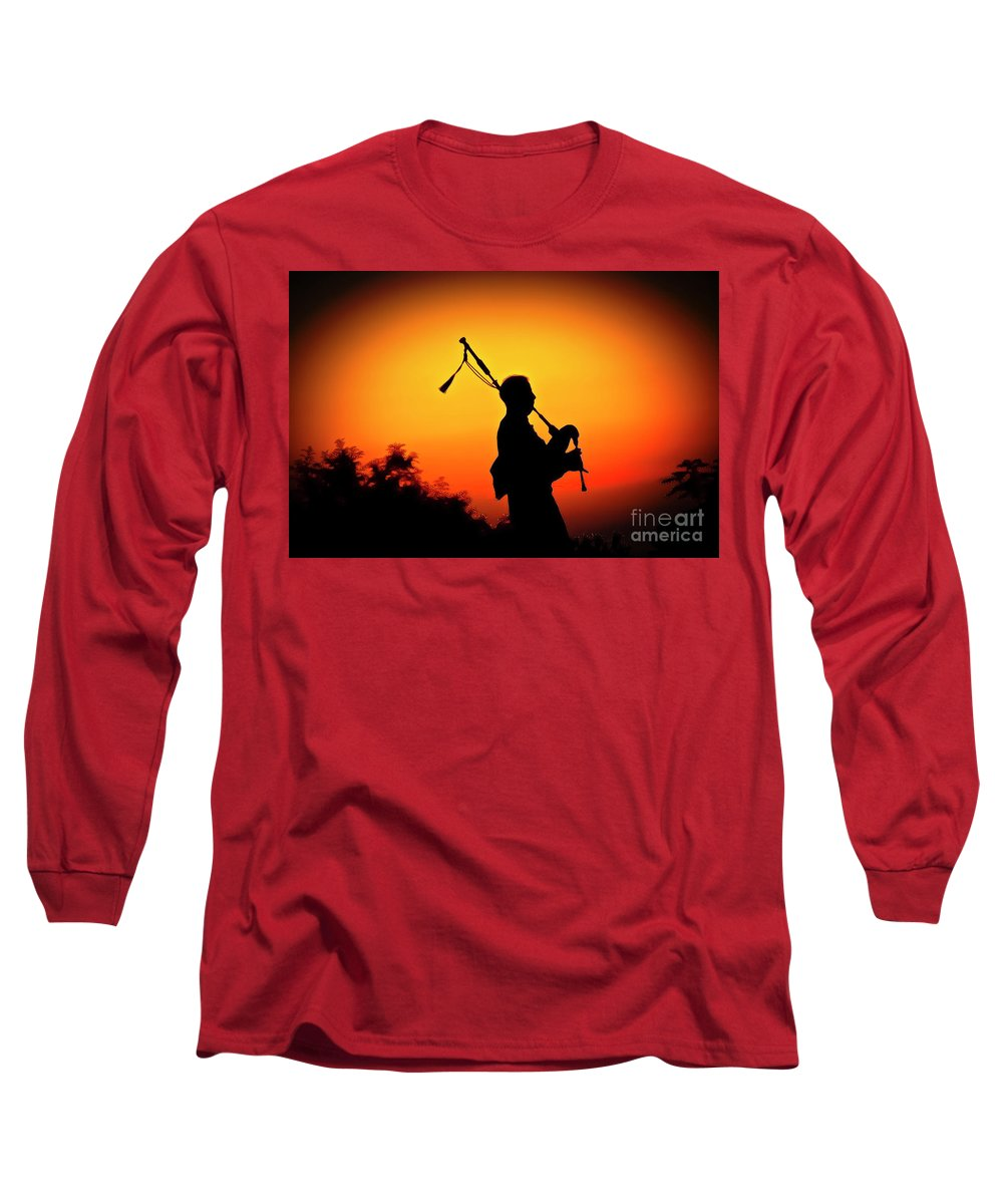 Sunset Long Sleeve T-Shirt featuring the photograph Amazing Grace by Jim Cazel