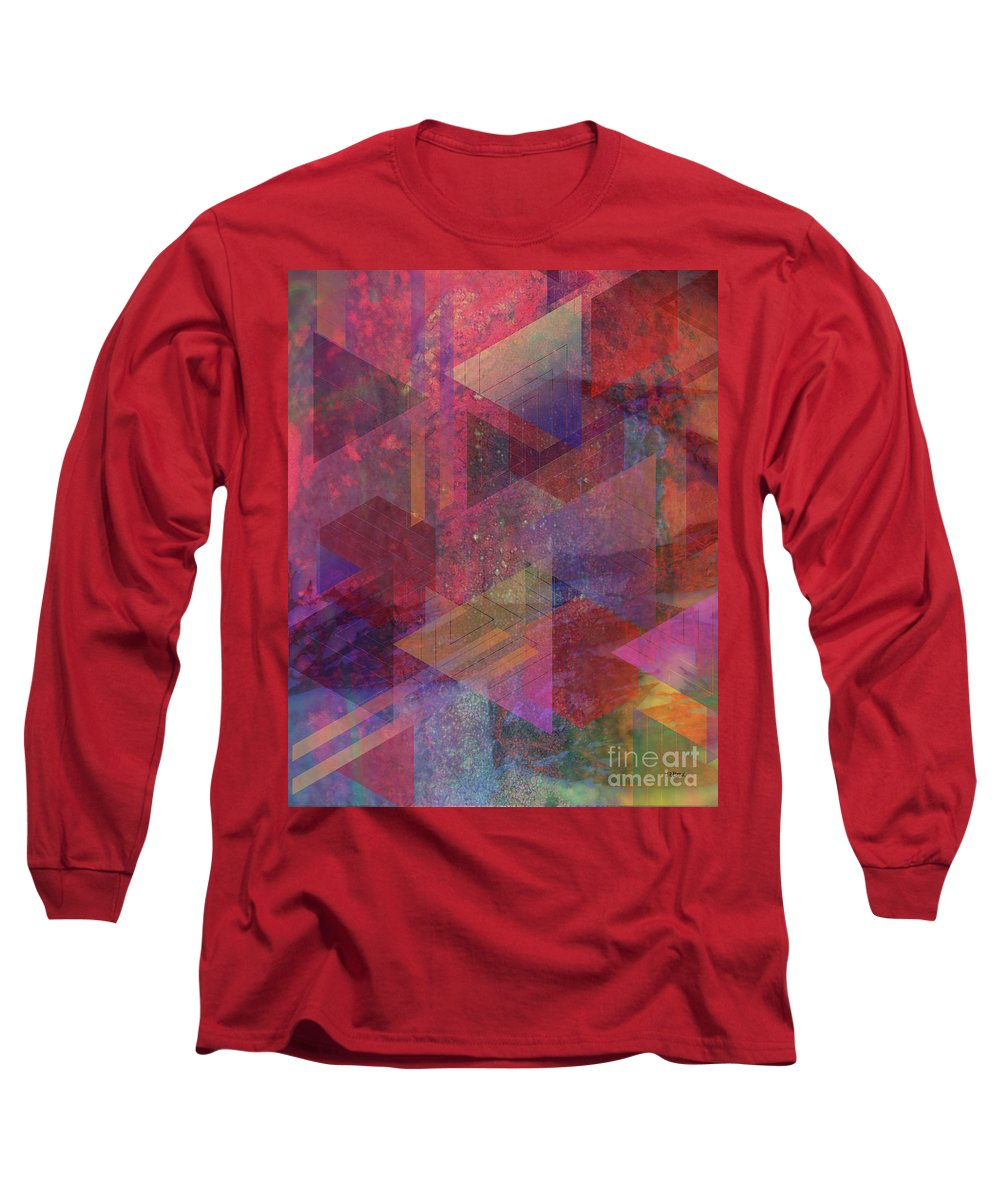 Another Place Long Sleeve T-Shirt featuring the digital art Another Place by John Beck