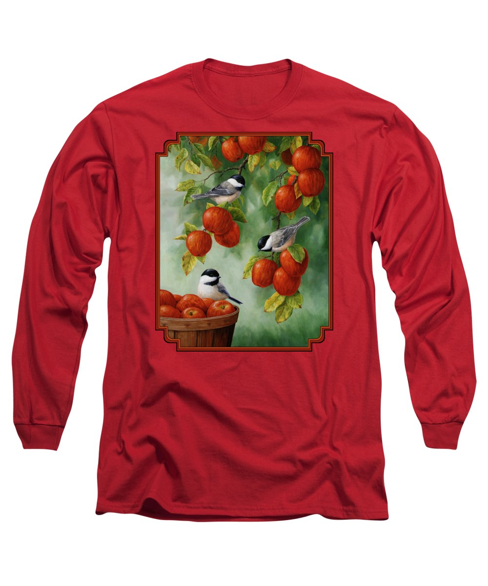 Chickadee Long Sleeve T-Shirts