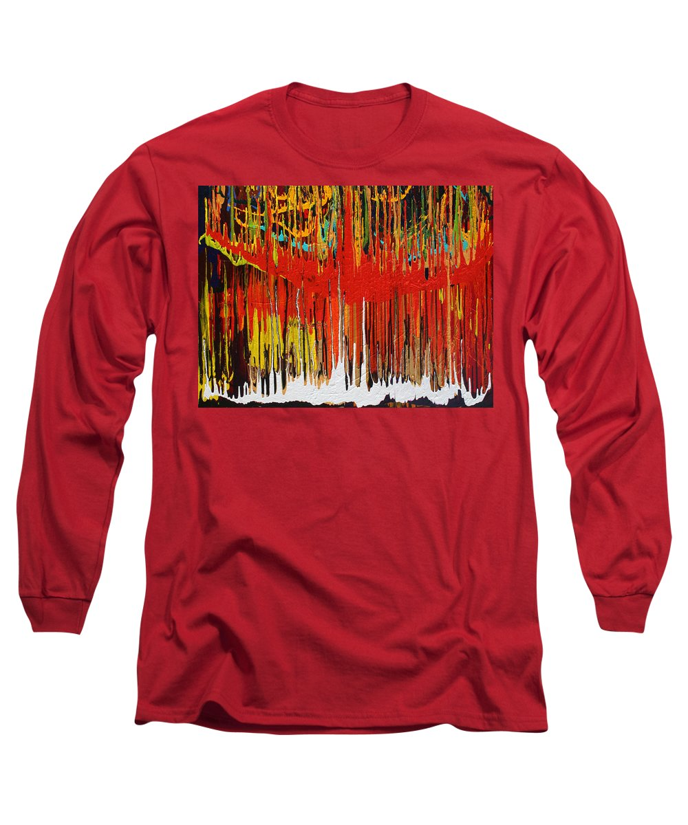 Fusionart Long Sleeve T-Shirt featuring the painting Ascension by Ralph White