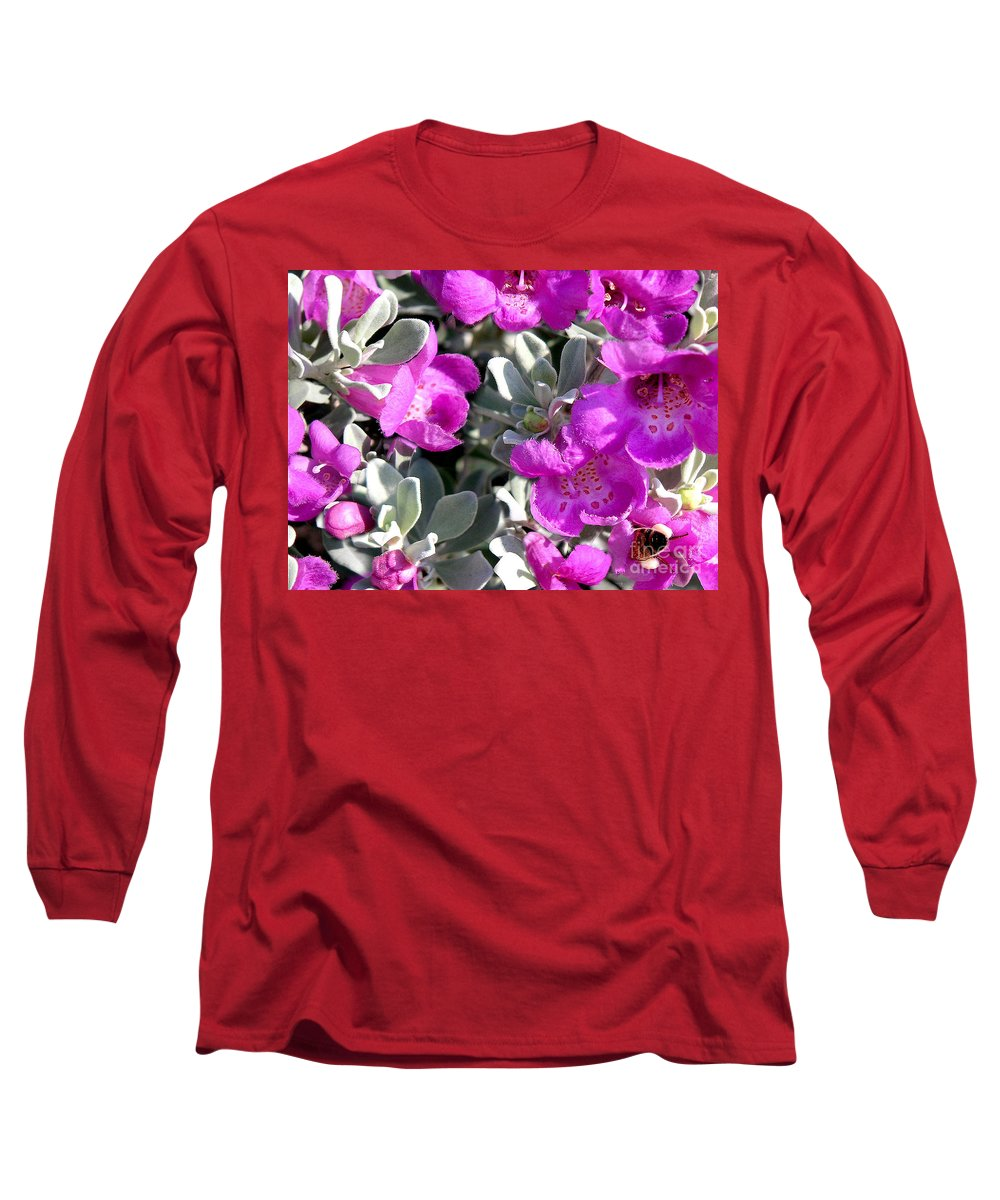 Nature Long Sleeve T-Shirt featuring the photograph Bottoms Up by Lucyna A M Green