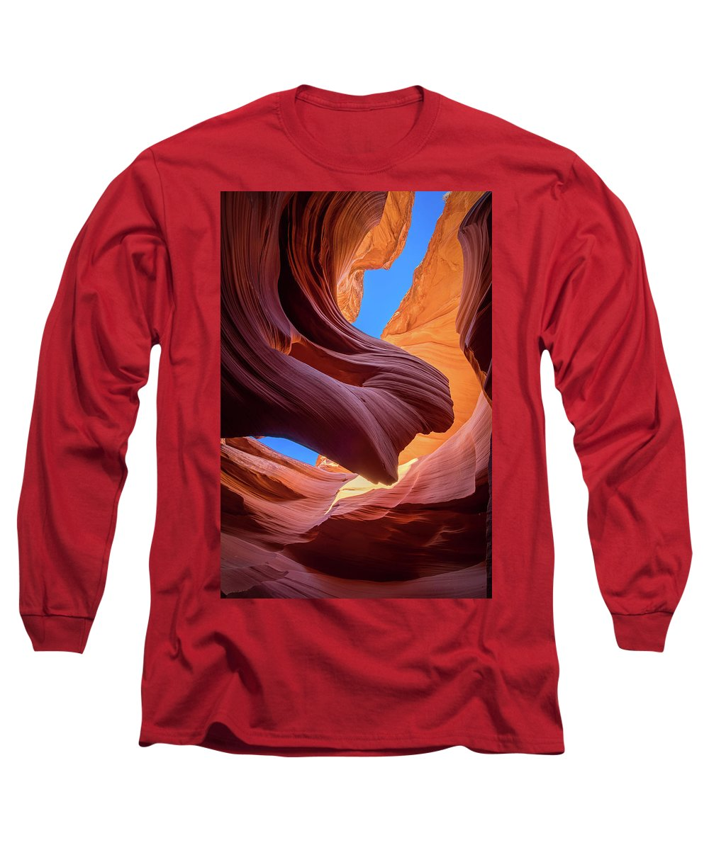 Amaizing Long Sleeve T-Shirt featuring the photograph Breeze Of Sandstone by Edgars Erglis
