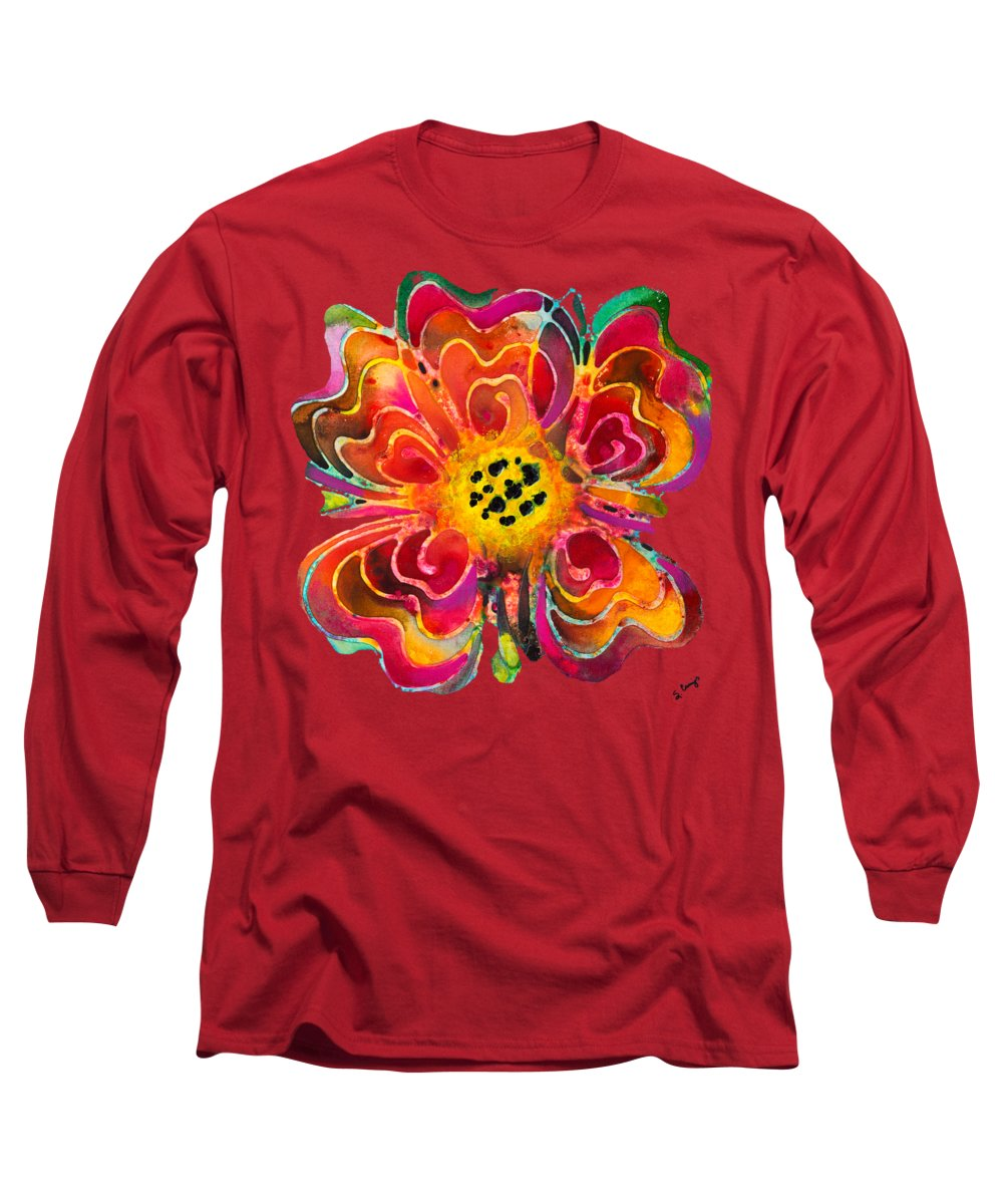 Floral Long Sleeve T-Shirts
