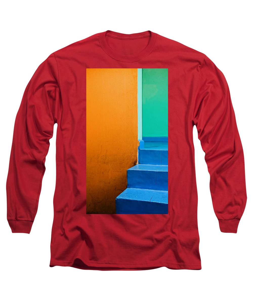 Oaxaca Long Sleeve T-Shirt featuring the photograph Creamsicle by Skip Hunt