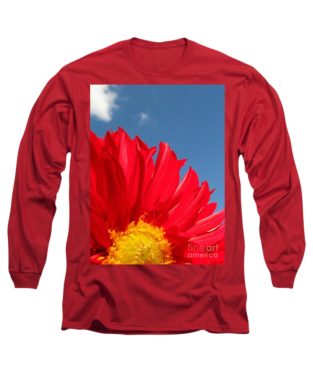 Dahlia Long Sleeve T-Shirt featuring the photograph Dahlia by Amanda Barcon