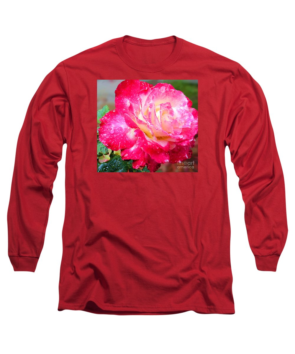 Fine Art Photography Long Sleeve T-Shirt featuring the photograph Double Delight by Patricia Griffin Brett