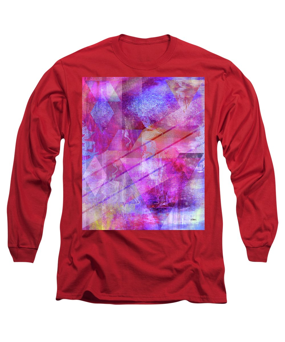 Dragon's Kiss Long Sleeve T-Shirt featuring the digital art Dragon's Kiss by John Beck