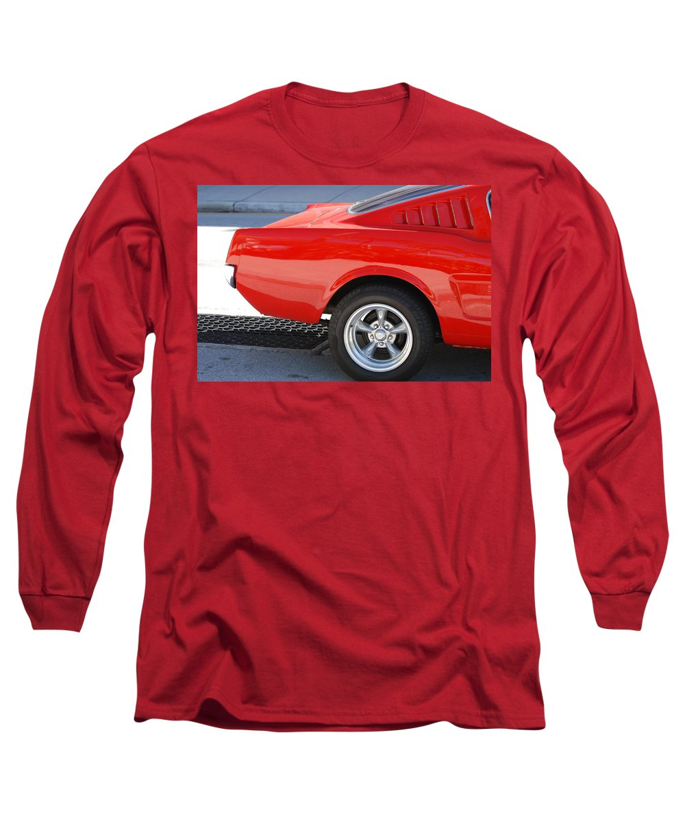 Ford Long Sleeve T-Shirt featuring the photograph Fastback Mustang by Rob Hans