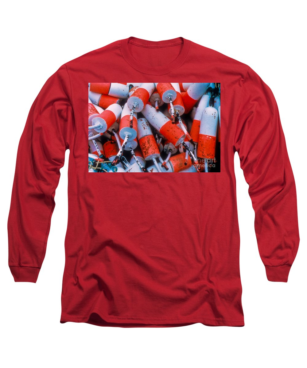Floats Long Sleeve T-Shirt featuring the photograph Floats by Thomas Marchessault
