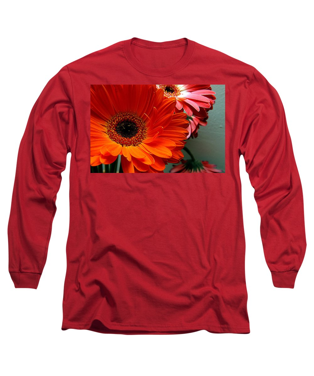 Clay Long Sleeve T-Shirt featuring the photograph Floral Art by Clayton Bruster