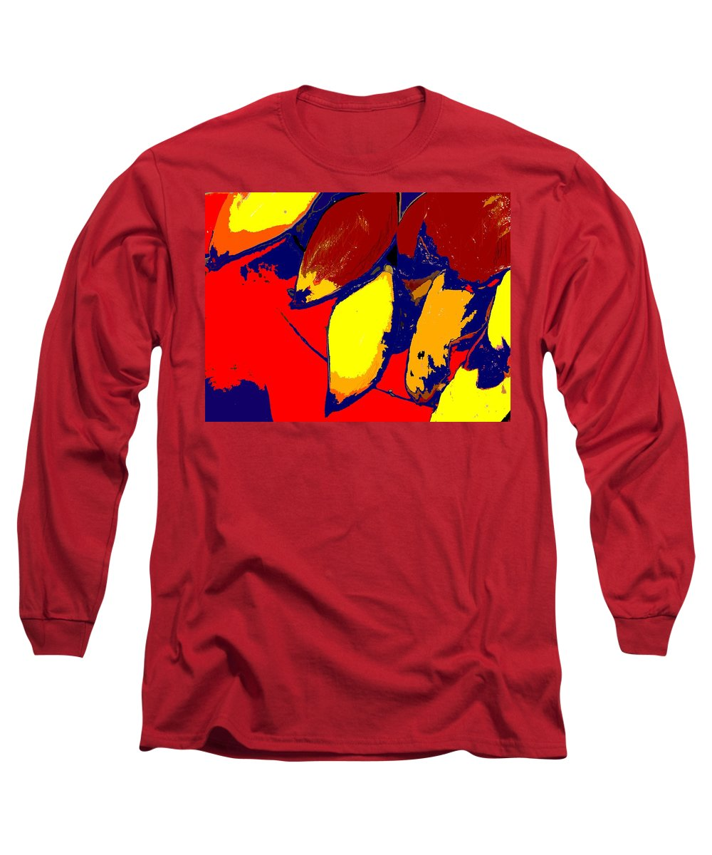 Red Long Sleeve T-Shirt featuring the photograph Forbidden Fruit by Ian MacDonald