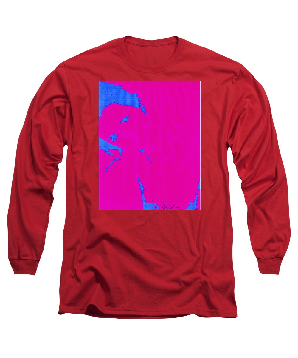 French Girl Long Sleeve T-Shirt featuring the photograph Gisele A French Girl by Dawn Johansen