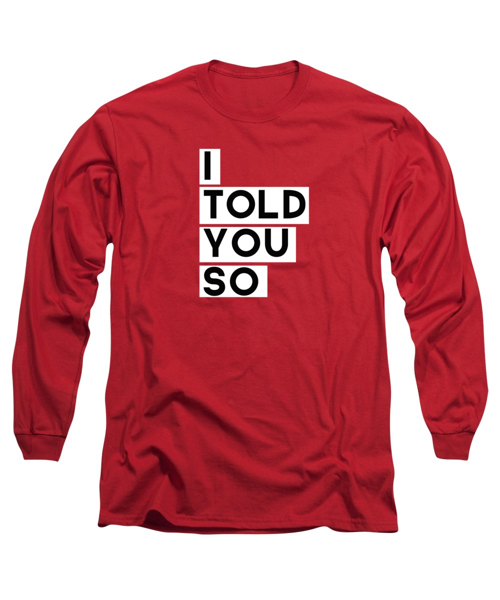 Red Long Sleeve T-Shirts