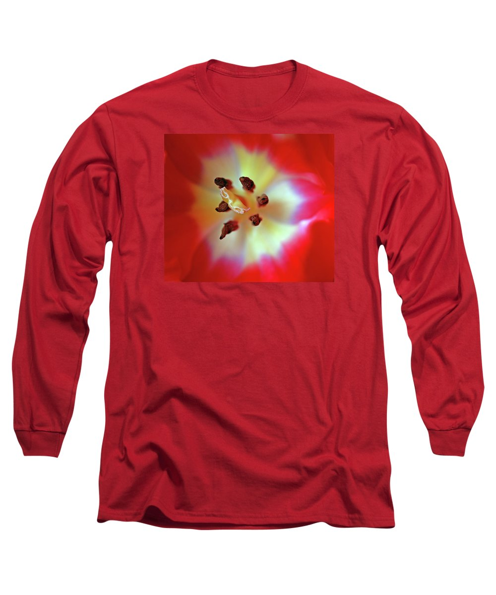 Tulip Long Sleeve T-Shirt featuring the photograph Inner Spirit by Bill Morgenstern
