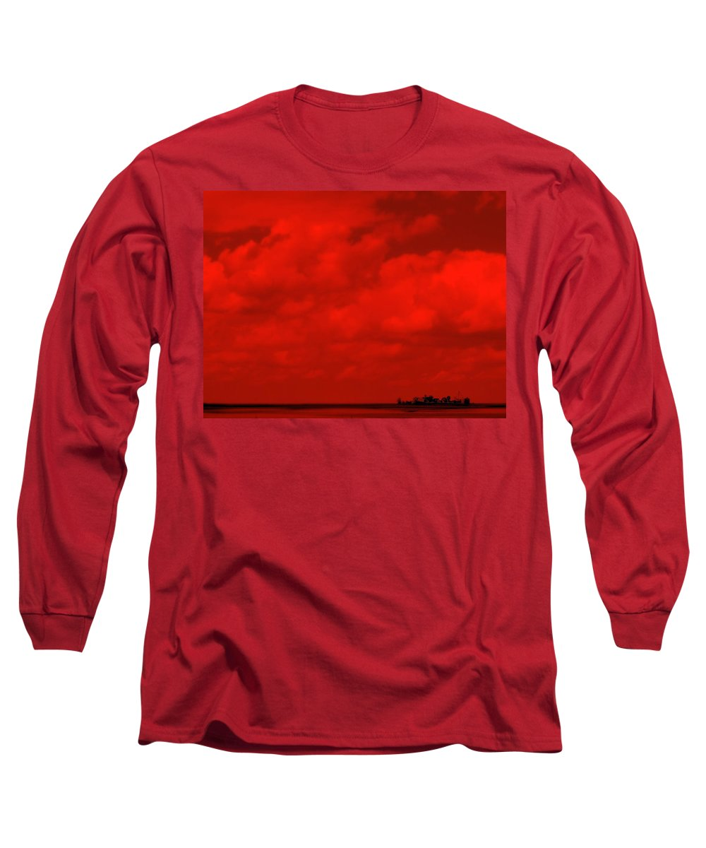 Sky Long Sleeve T-Shirt featuring the photograph Life On Mars by Ed Smith