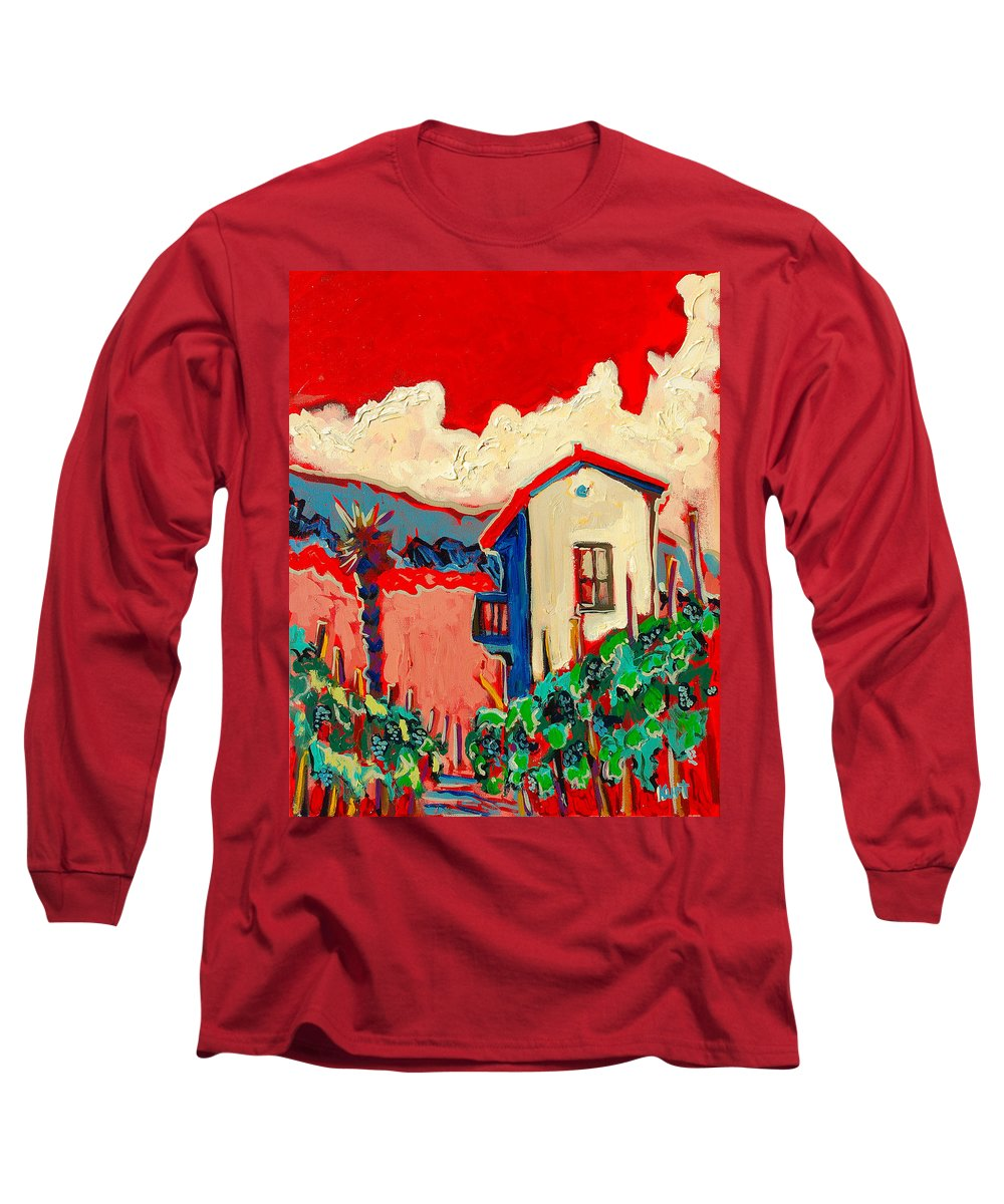 Tuscany Long Sleeve T-Shirt featuring the painting Notare by Kurt Hausmann