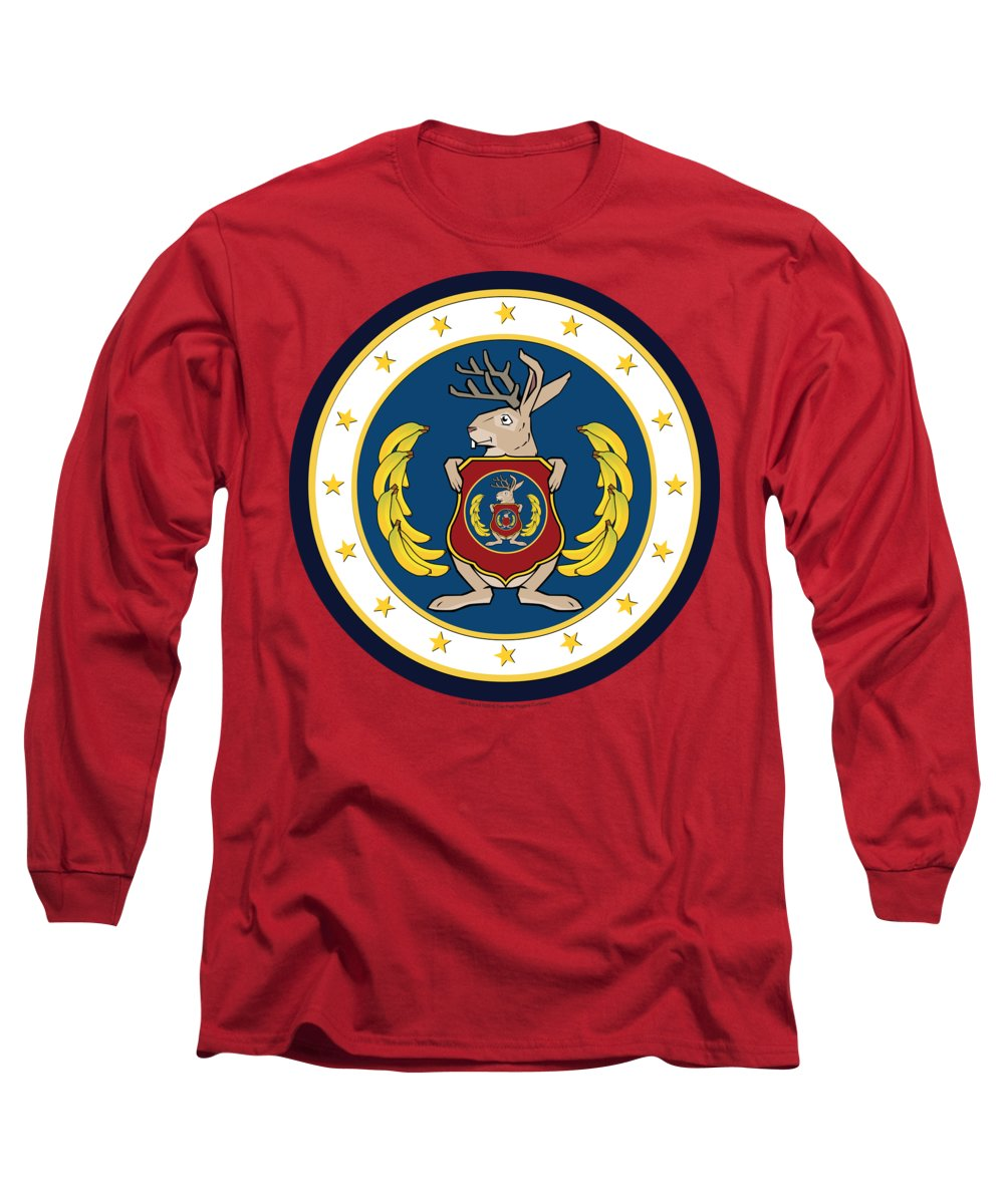 Odd Squad Long Sleeve T-Shirt featuring the digital art Official Odd Squad Seal by Odd Squad