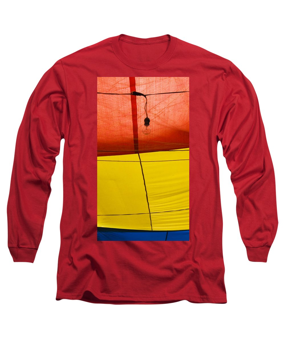 Bulb Long Sleeve T-Shirt featuring the photograph Primary Light by Skip Hunt