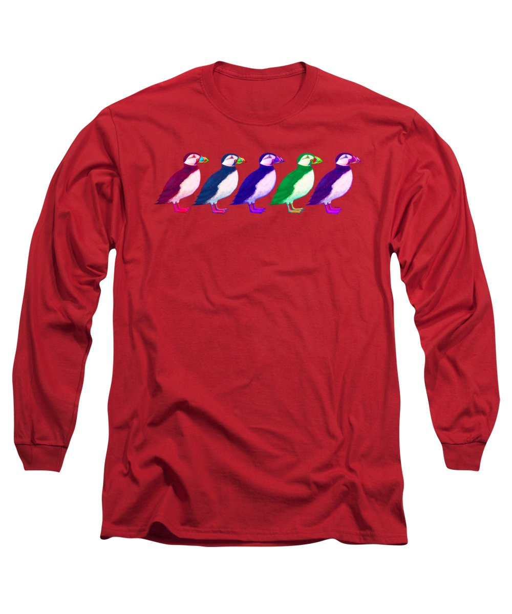 Puffin Long Sleeve T-Shirts