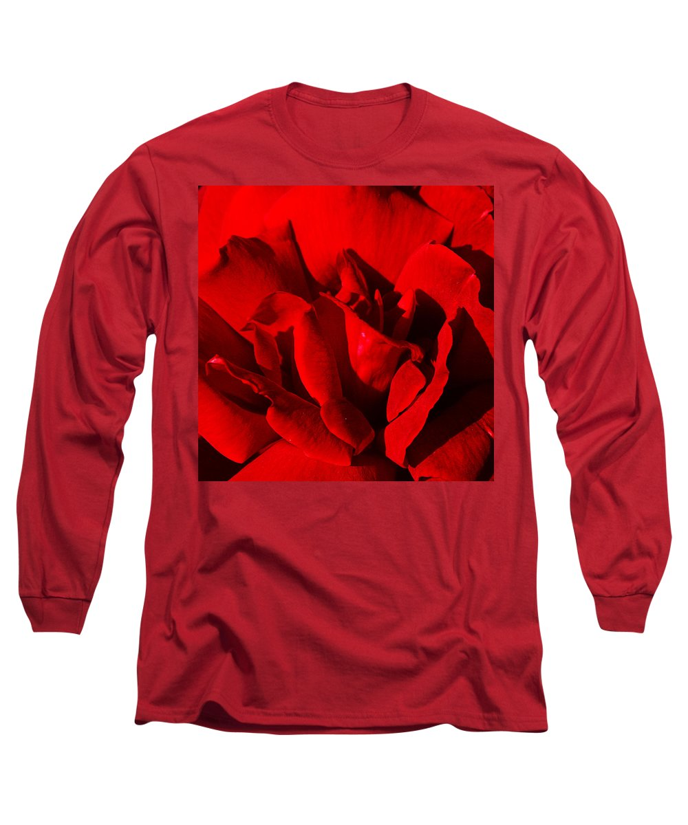 Rose Long Sleeve T-Shirt featuring the photograph Rose 2 by Anthony Jones
