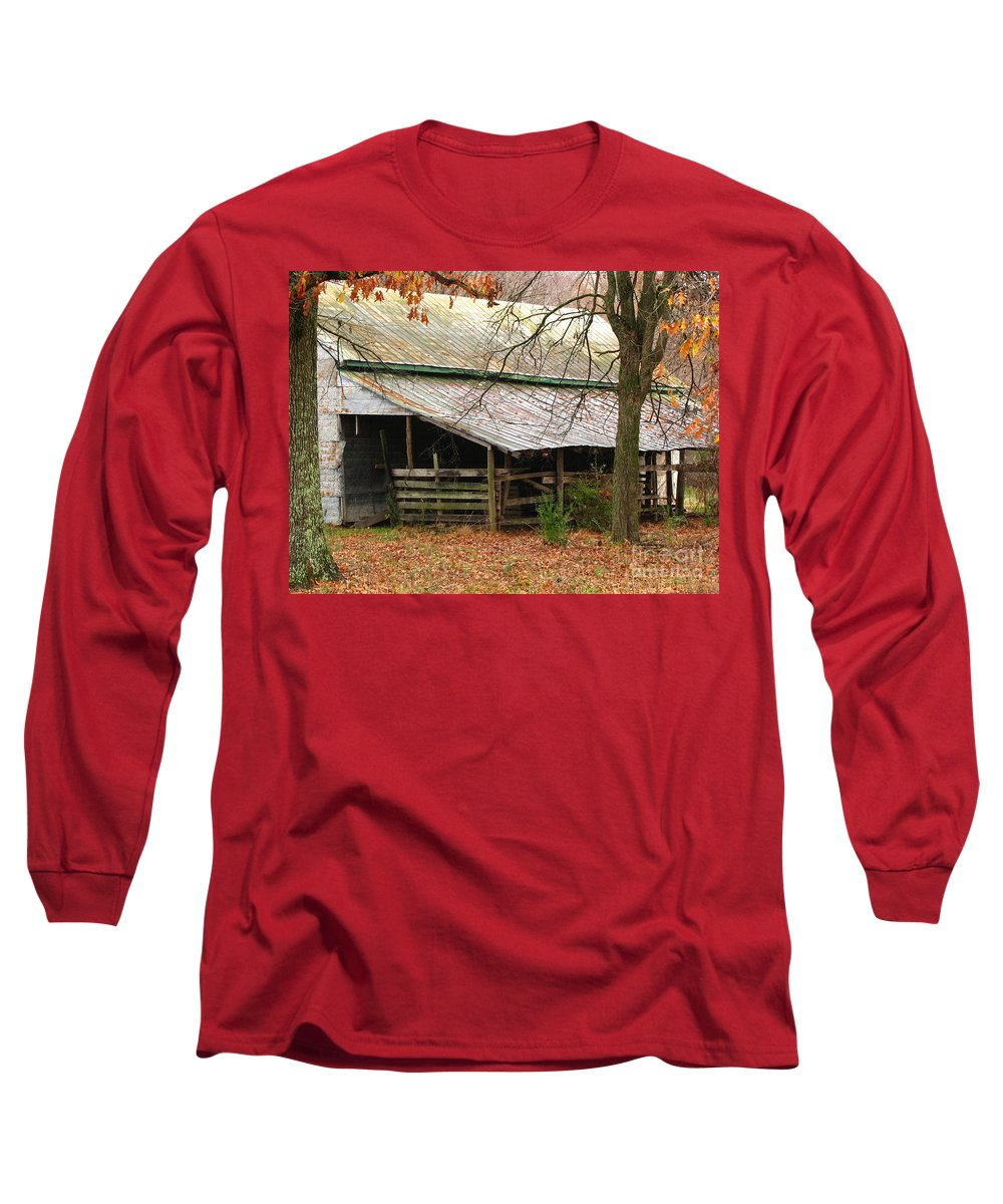 Rural Long Sleeve T-Shirt featuring the photograph Rural by Amanda Barcon