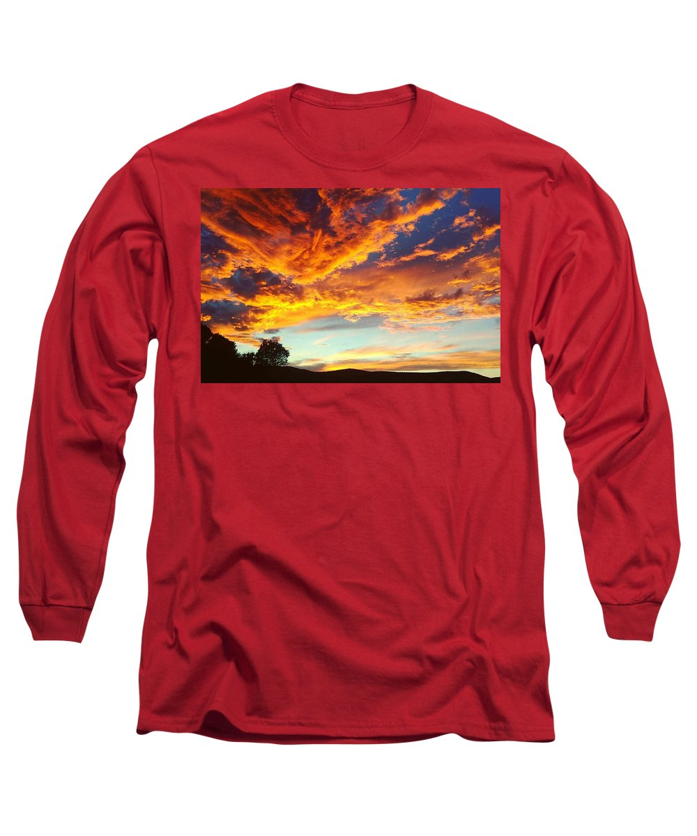 Sunset Long Sleeve T-Shirts
